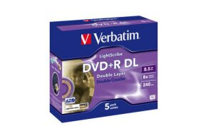DVD+R DOUBLE LAYER VERBATIM